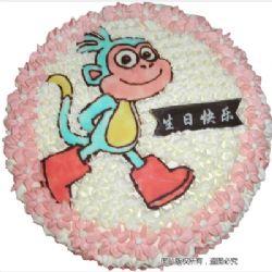 鮮奶蛋糕/小猴樂樂