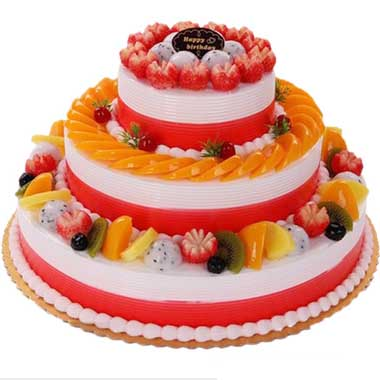 鮮奶水果蛋糕/嫣然愛意