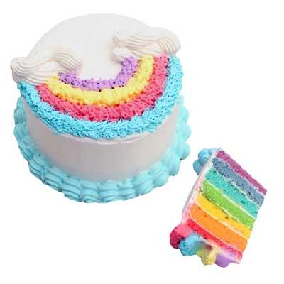 彩虹蛋糕/時光靜好