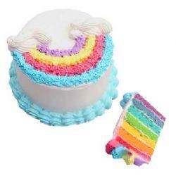 彩虹蛋糕/时光静好