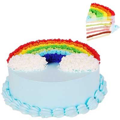 彩虹蛋糕/彩色的夢
