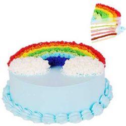 彩虹蛋糕/彩色的梦