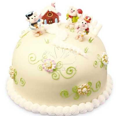 好利来蛋糕/三只小猪