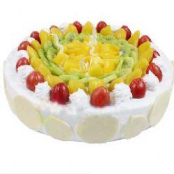水果蛋糕/为你盛开