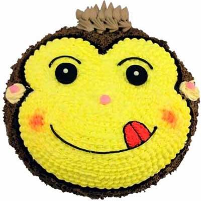鲜奶蛋糕/嬉皮猴