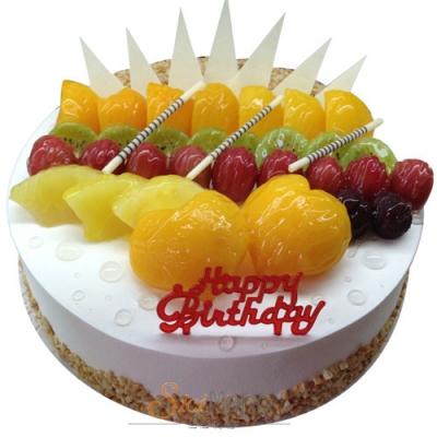 水果蛋糕/誘人色彩