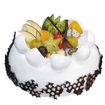 鲜奶水果蛋糕/丝丝情谊
