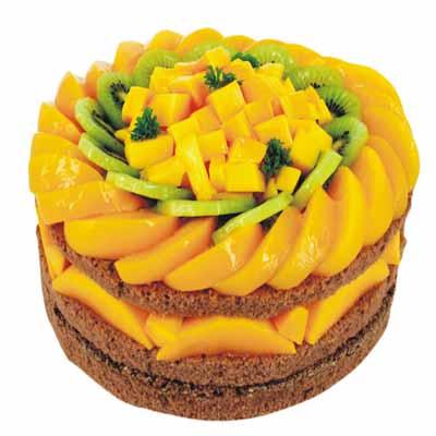 水果蛋糕/香芒脆心
