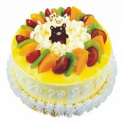 鲜奶水果蛋糕/一见倾心