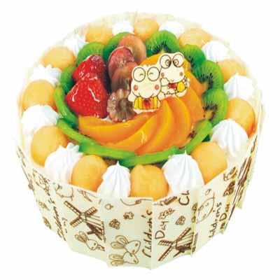 鮮奶水果蛋糕/兩小無猜