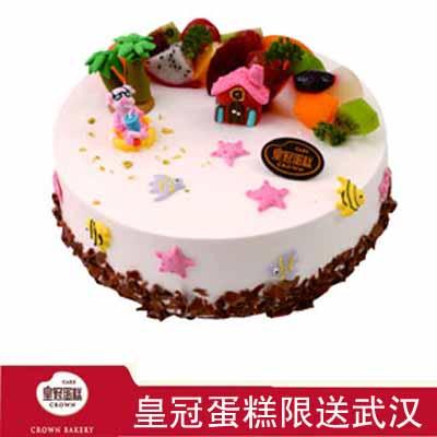 皇冠蛋糕/海島假日