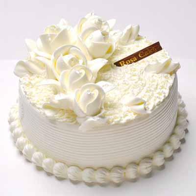 鲜奶蛋糕/雨露玫瑰
