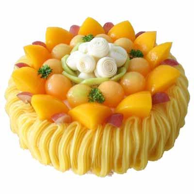 水果蛋糕/秋的��候
