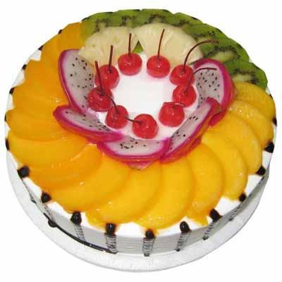 水果蛋糕/满园春色