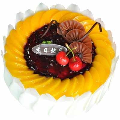 水果蛋糕/橙色愛戀