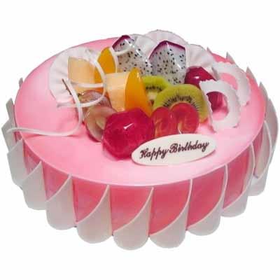 鲜奶蛋糕/粉色甜蜜