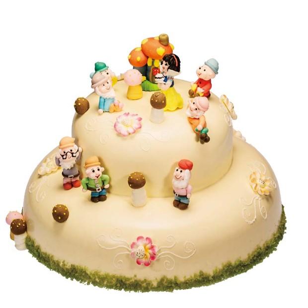 好利来蛋糕/白雪公主与七个小矮人