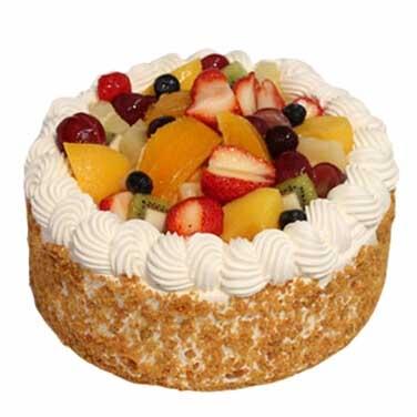 水果蛋糕/暖暖的愛