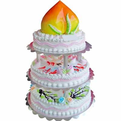 祝壽蛋糕/壽滿天年