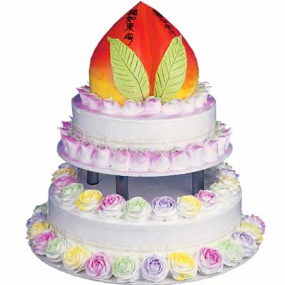 祝寿蛋糕/松柏之寿