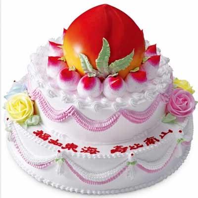 祝寿蛋糕/寿山福海