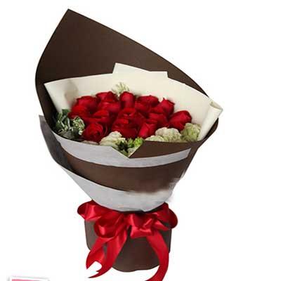 16枝红玫瑰/咖啡心情
