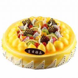 水果蛋糕/浪漫烛光