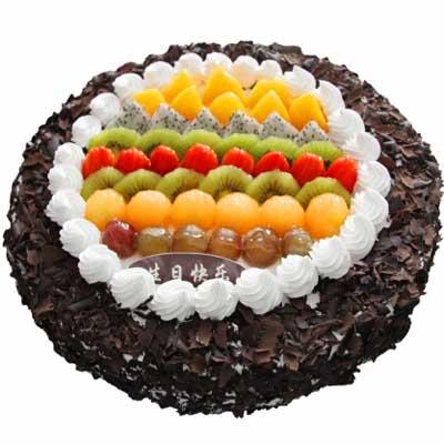 巧克力蛋糕/傾城溫暖