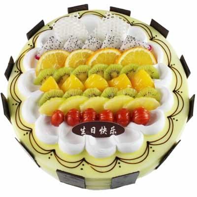 水果蛋糕/满满的幸福