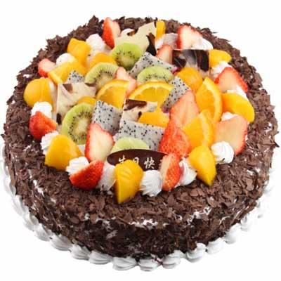 水果蛋糕/組合的浪漫