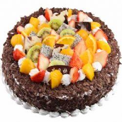 水果蛋糕/组合的浪漫