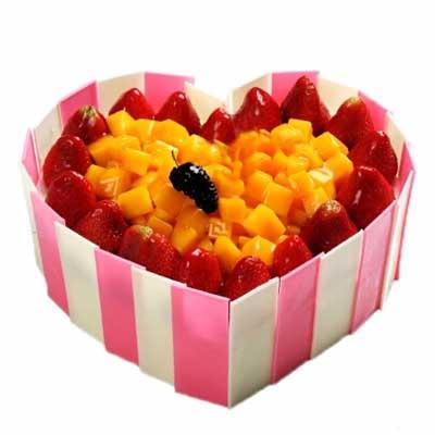 水果蛋糕/心心相印