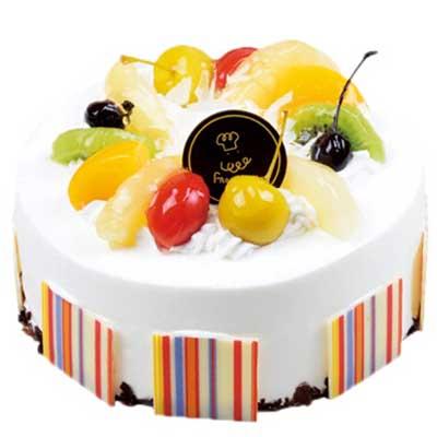 水果蛋糕/简约的甜蜜