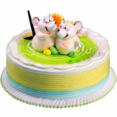 鲜奶蛋糕/相偎相依