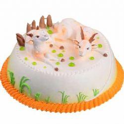 鲜奶蛋糕/喜气洋洋