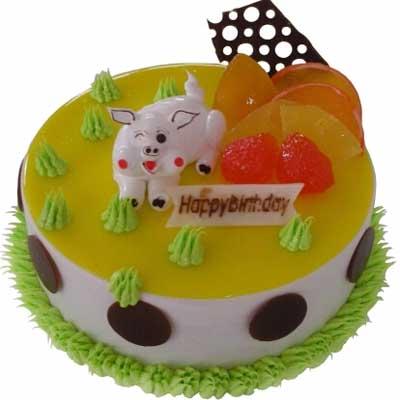 鲜奶蛋糕/灿烂猪宝贝