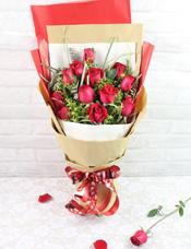 12枝紅玫瑰/愛的驚喜
