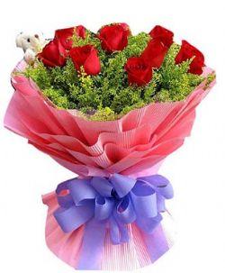 10枝红玫瑰/十全十美