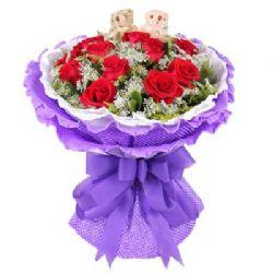11枝红玫瑰/缘份