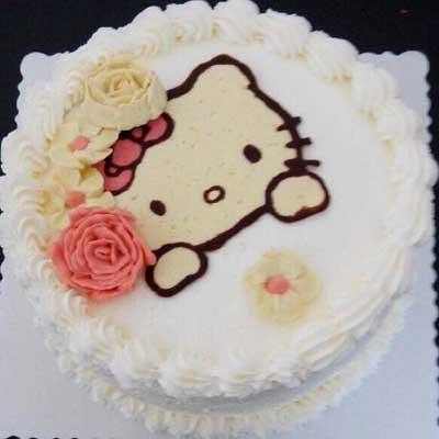 鲜奶蛋糕/hello kitty