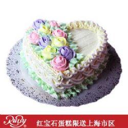 红宝石蛋糕/心型鲜奶蛋糕#30