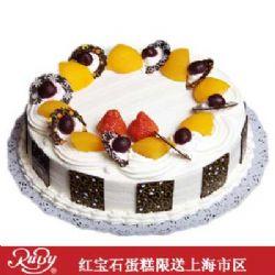 红宝石蛋糕/鲜奶水果蛋糕#35