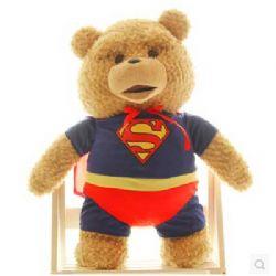 毛绒玩具/泰迪熊公仔: 优质环保PP棉,坐高60CM