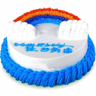 彩虹蛋糕/吉祥�o�