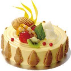 圆形慕斯蛋糕/米兰春天