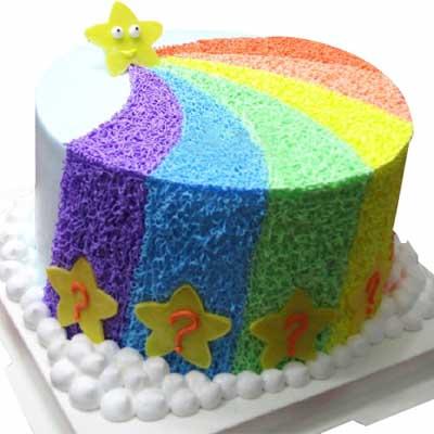 彩虹蛋糕/美��七彩虹