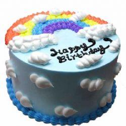 彩虹蛋糕/缠绵的雨