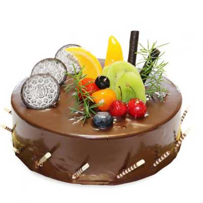 巧克力蛋糕/美麗風景