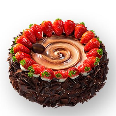 巧克力蛋糕/草莓風暴