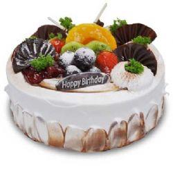 水果蛋糕/木桩